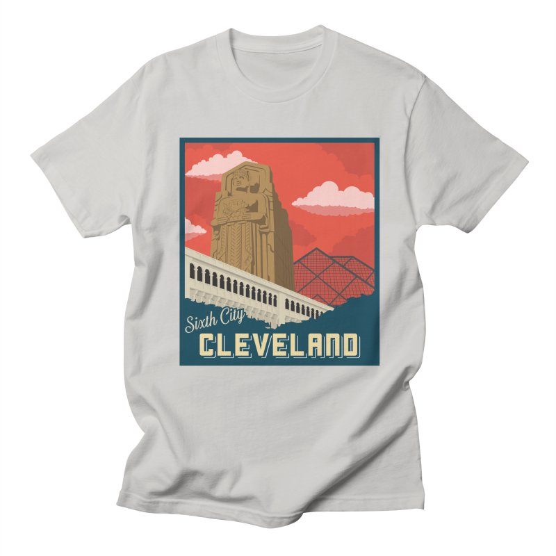 Vintage Cleveland Men's Regular T-Shirt by zavatee's Artist Shop