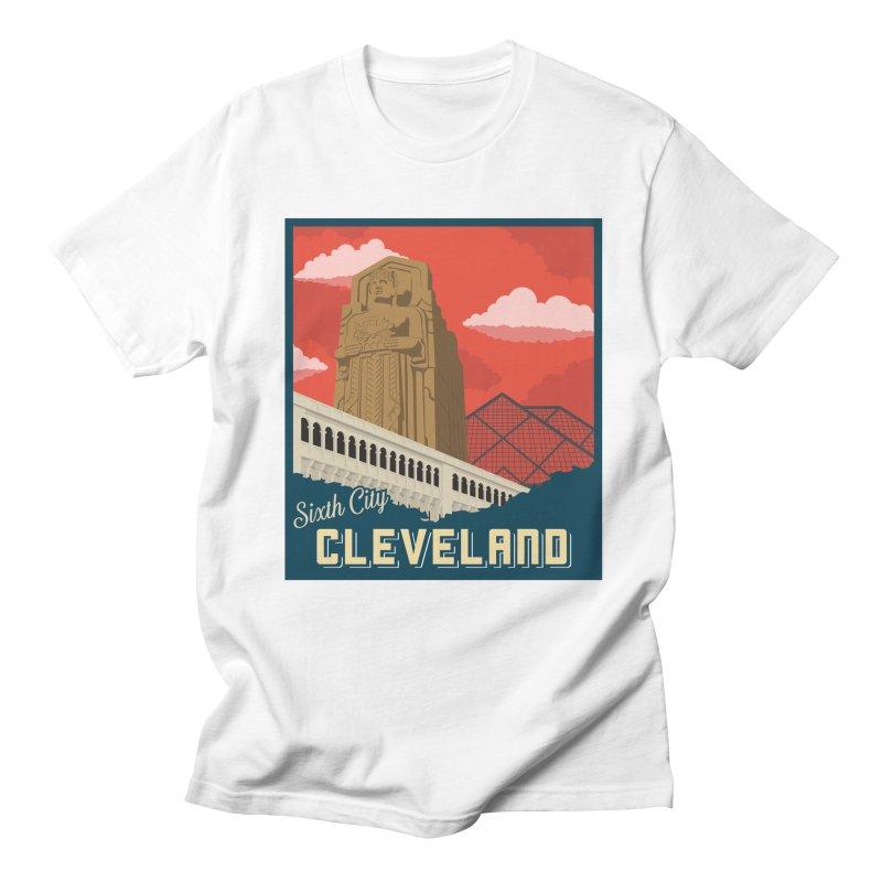 Vintage Cleveland Men's T-Shirt by zavatee's Artist Shop