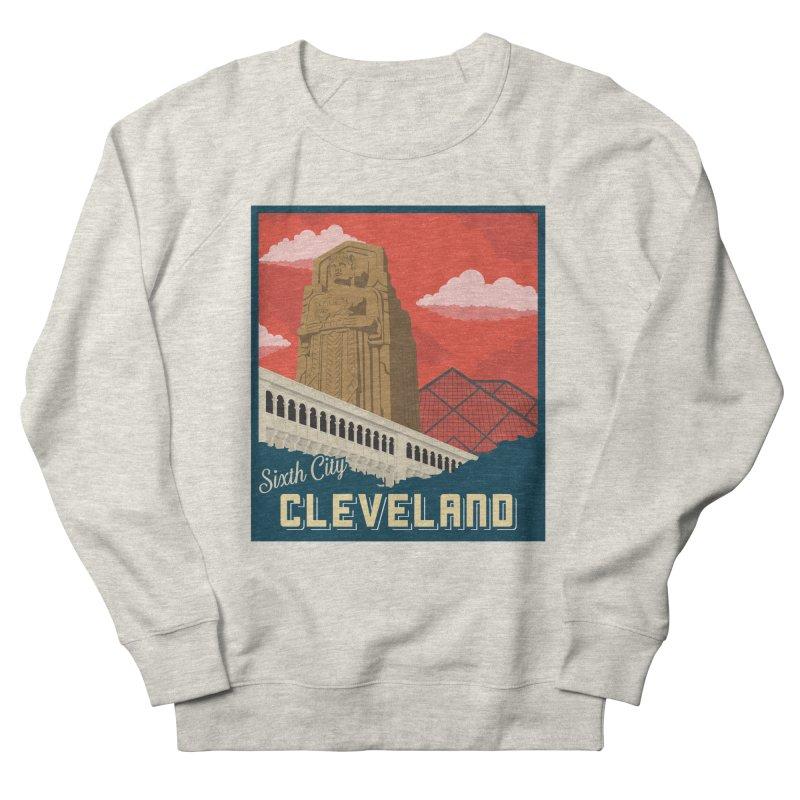 Vintage Cleveland Women's Sweatshirt by zavatee's Artist Shop