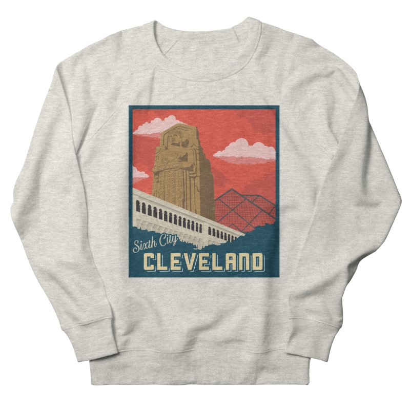 Vintage Cleveland Men's Sweatshirt by zavatee's Artist Shop