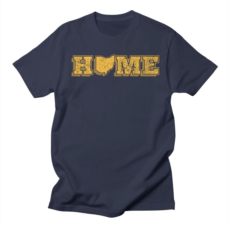 Home - Ohio (Gold) Men's Regular T-Shirt by zavatee's Artist Shop