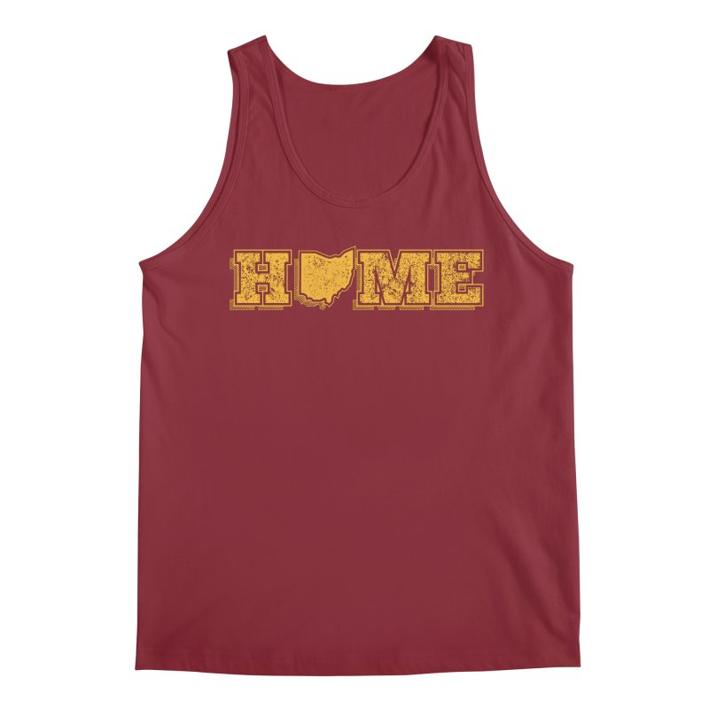 Home - Ohio (Gold) Men's Regular Tank by zavatee's Artist Shop