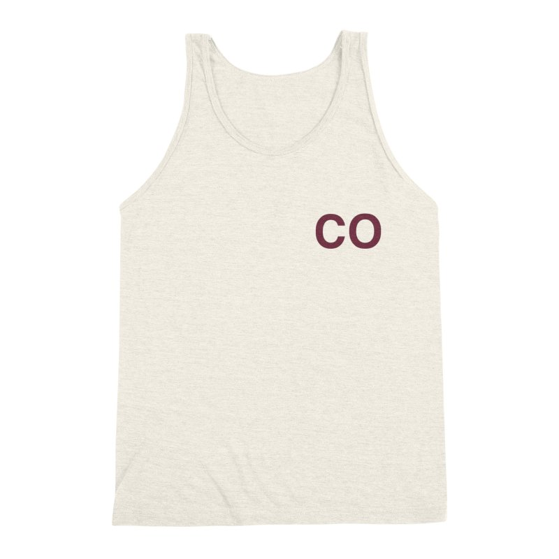 Colorado - CO Men's Triblend Tank by zavatee's Artist Shop