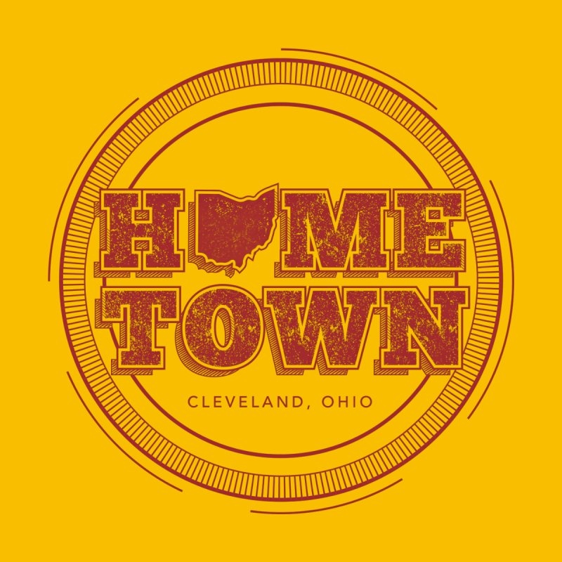 Hometown - Cleveland None  by zavatee's Artist Shop