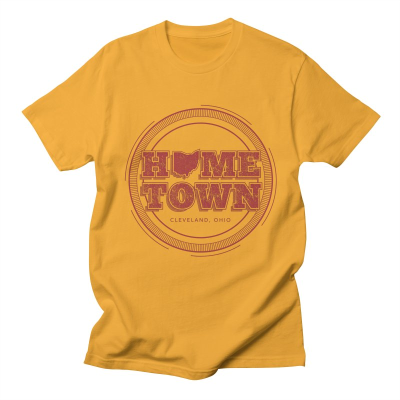 Hometown - Cleveland Men's T-Shirt by zavatee's Artist Shop