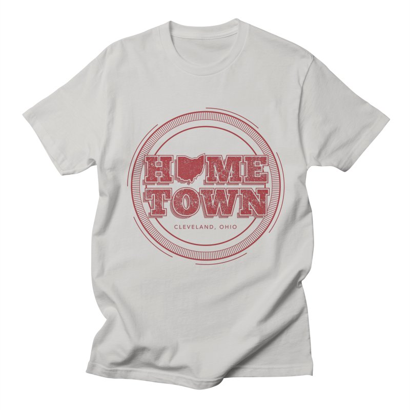 Hometown - Cleveland Men's Regular T-Shirt by zavatee's Artist Shop