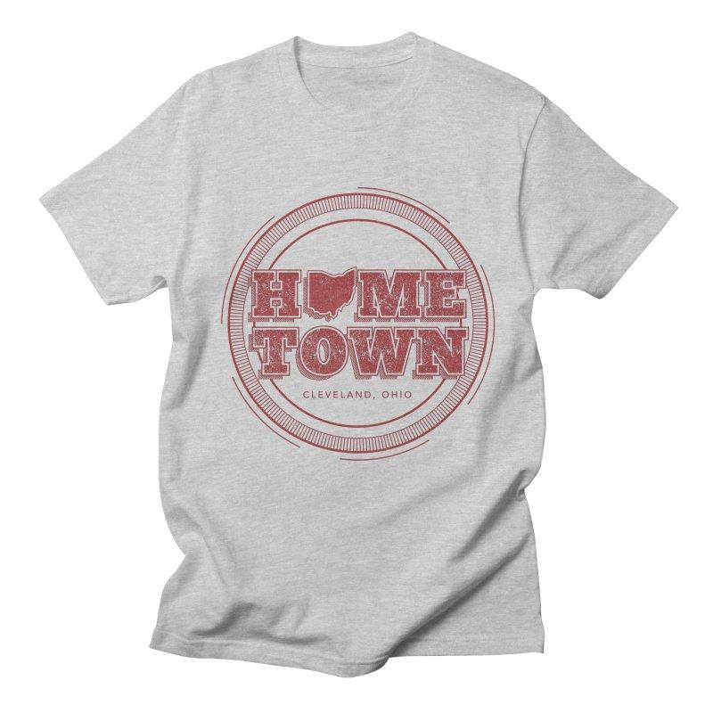 Hometown - Cleveland Men's T-Shirt by zavatee's Artist Shop