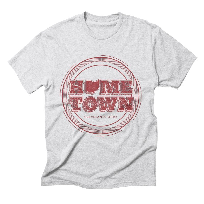 Hometown - Cleveland Men's Triblend T-Shirt by zavatee's Artist Shop