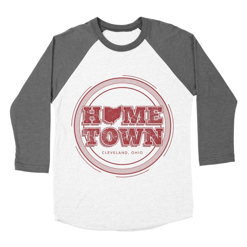 Hometown - Cleveland Women's Baseball Triblend Longsleeve T-Shirt by zavatee's Artist Shop