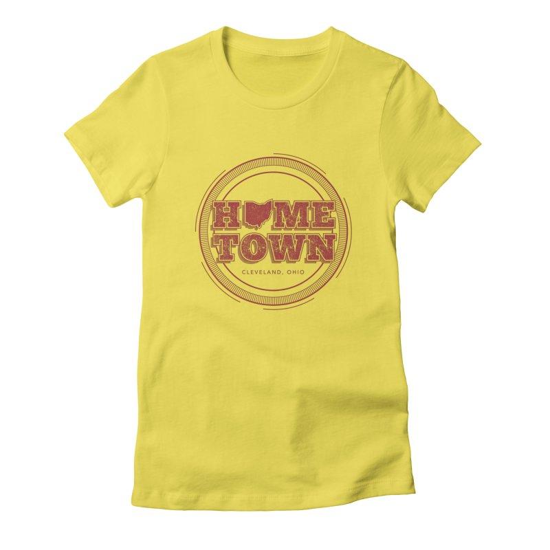 Hometown - Cleveland Women's T-Shirt by zavatee's Artist Shop