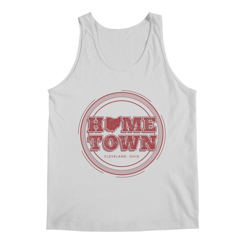Hometown - Cleveland Men's Regular Tank by zavatee's Artist Shop