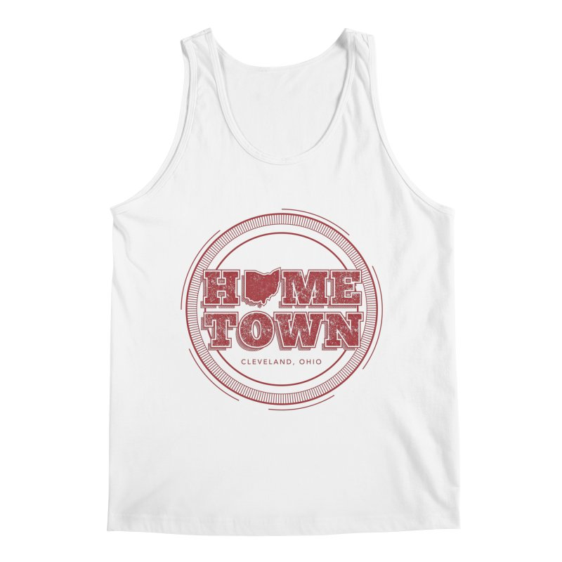 Hometown - Cleveland Men's Regular Tank by zavatee's Artist Shop