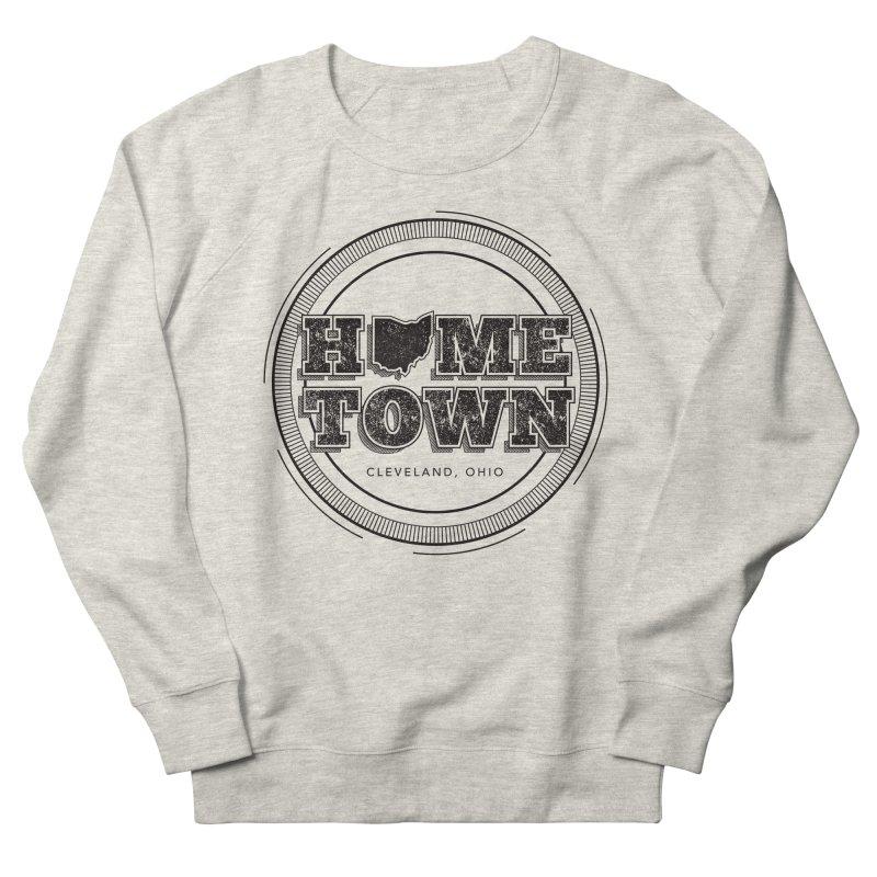 Hometown - Cleveland (Black) Women's French Terry Sweatshirt by zavatee's Artist Shop