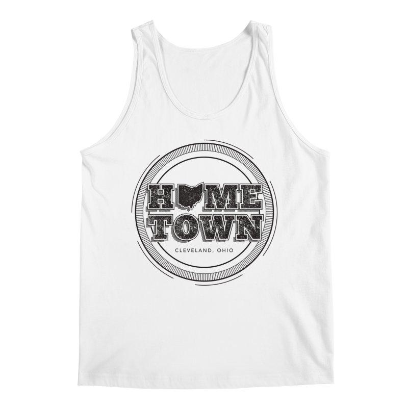 Hometown - Cleveland (Black) Men's Tank by zavatee's Artist Shop