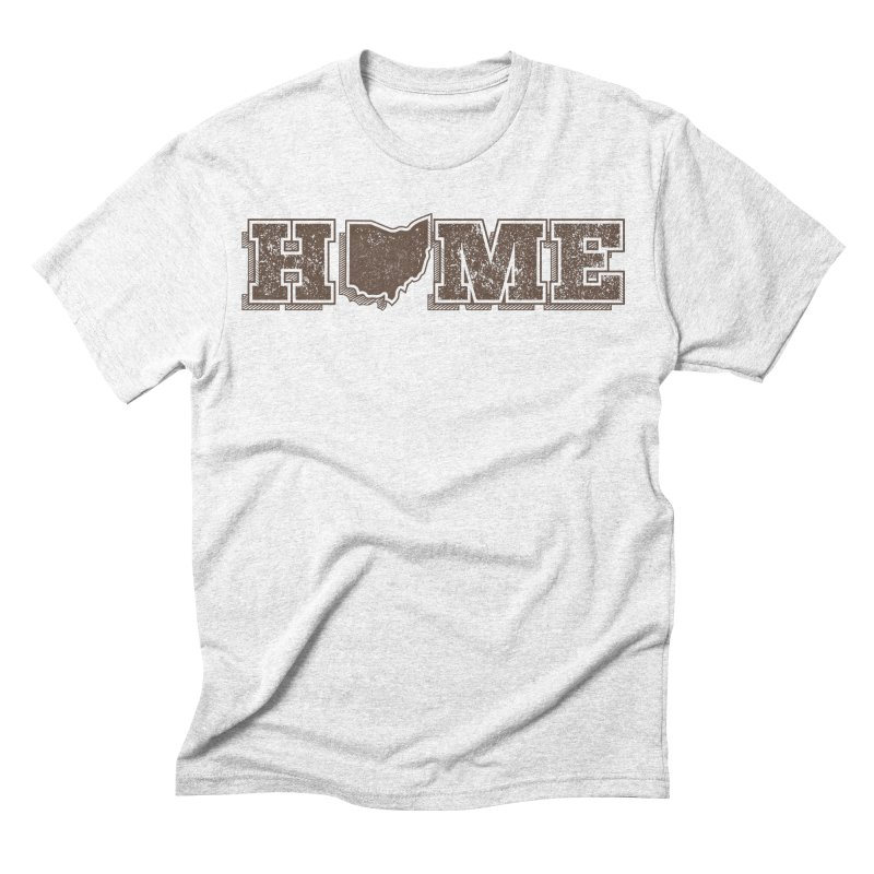 Home - Ohio Men's Triblend T-shirt by zavatee's Artist Shop