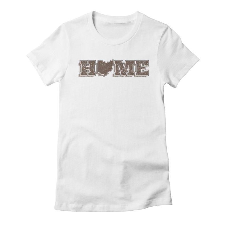 Home - Ohio Women's T-Shirt by zavatee's Artist Shop