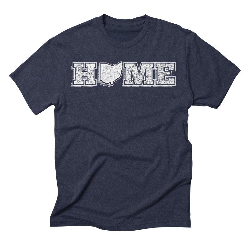 Home - Ohio - Dark Men's T-Shirt by zavatee's Artist Shop