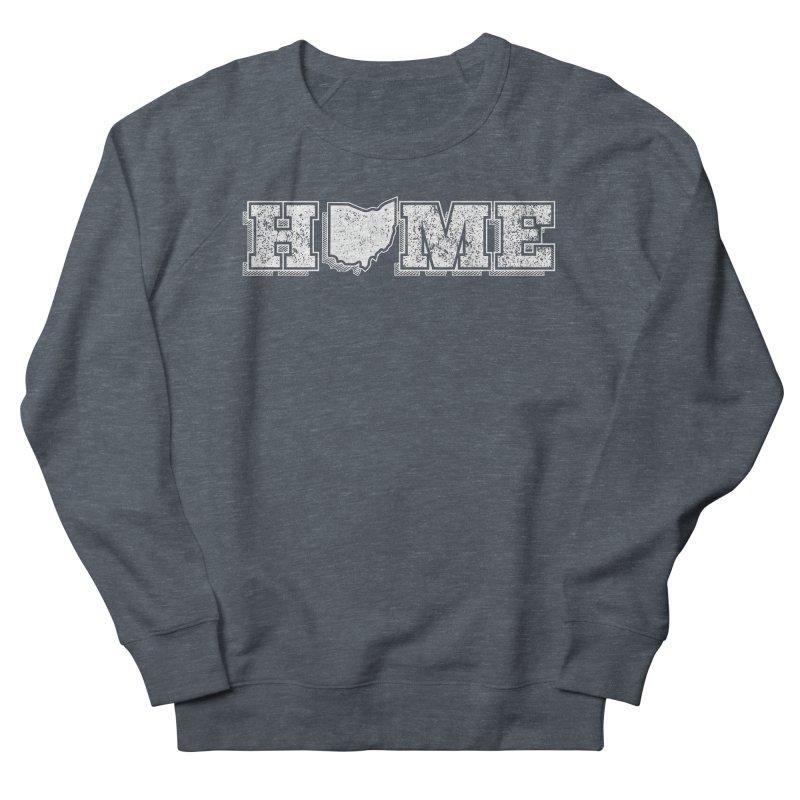 Home - Ohio (White) Men's Sweatshirt by zavatee's Artist Shop