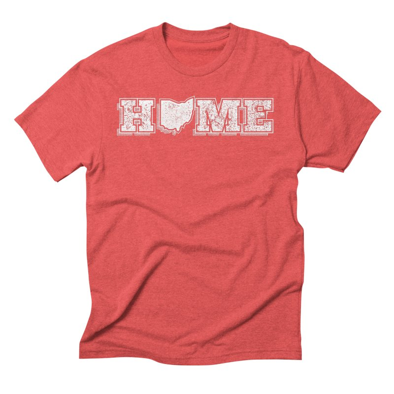 Home - Ohio - Dark Men's T-Shirt by zavatee's Artist Shop