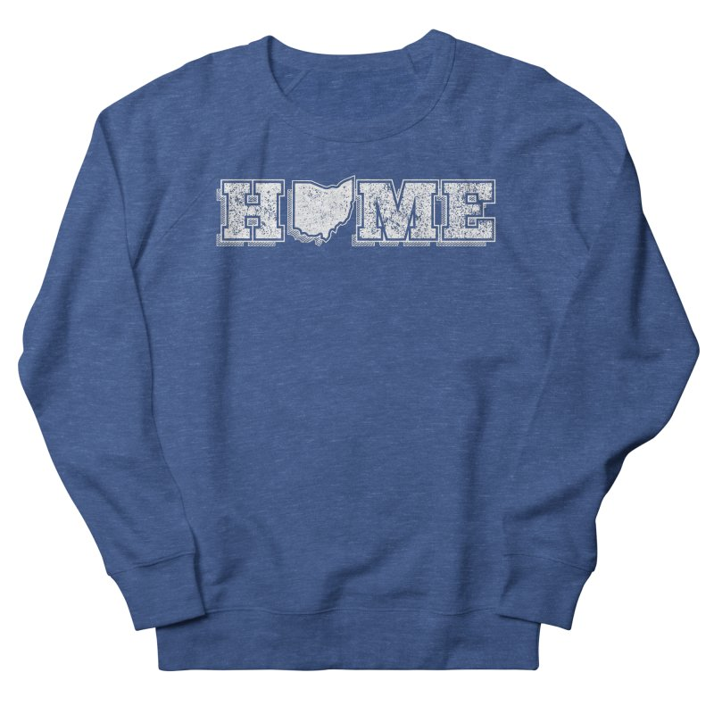 Home - Ohio - Dark Men's French Terry Sweatshirt by zavatee's Artist Shop