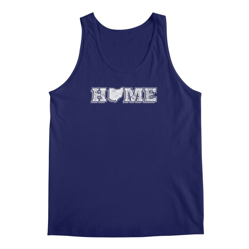 Home - Ohio (White) Men's Tank by zavatee's Artist Shop