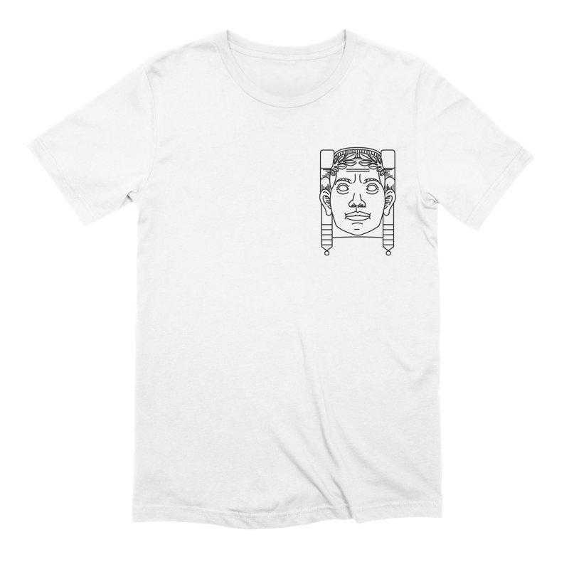 Memorial Bridge - Cleveland - Light in Men's Extra Soft T-Shirt White by zavatee's Artist Shop
