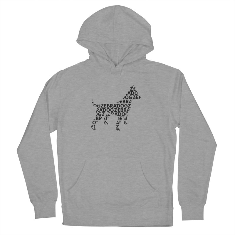 Alphabet Zoup Men's French Terry Pullover Hoody by Zebradog Apparel & Accessories