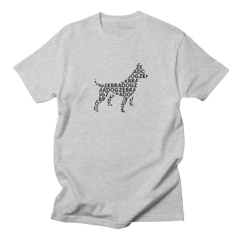 Alphabet Zoup Men's Regular T-Shirt by Zebradog Apparel & Accessories