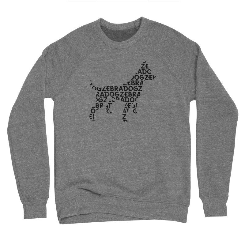 Alphabet Zoup Men's Sponge Fleece Sweatshirt by Zebradog Apparel & Accessories