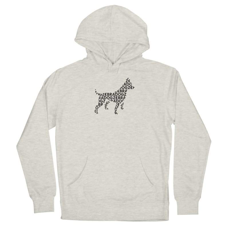 Alphabet Zoup Men's Pullover Hoody by Zebradog Apparel & Accessories