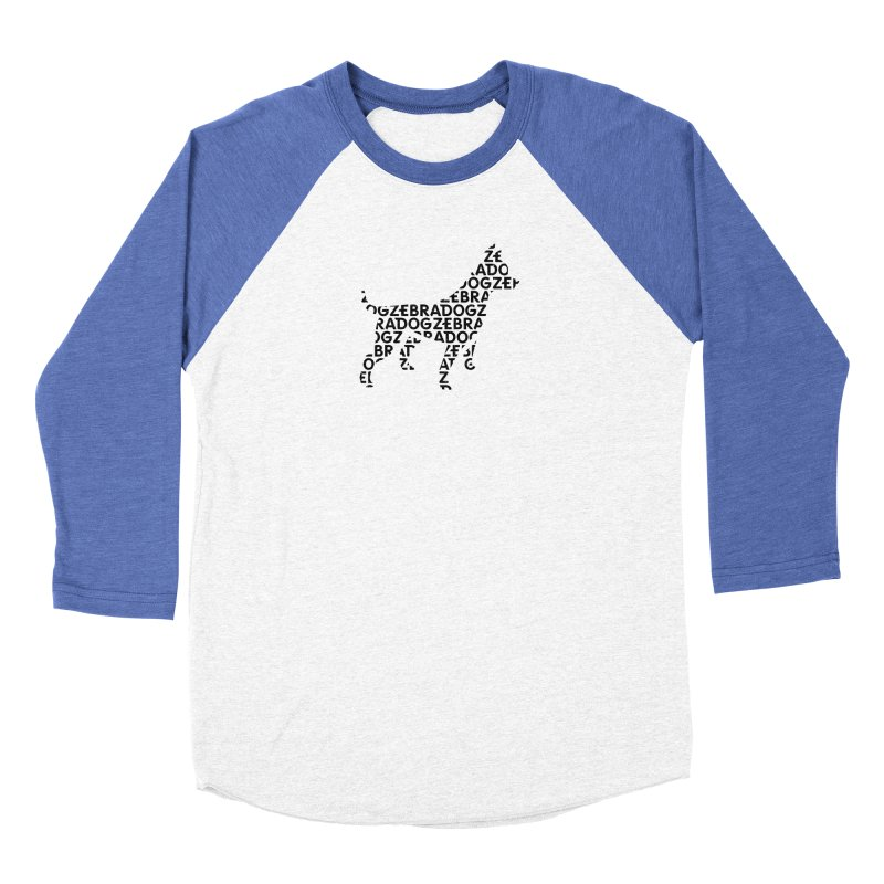 Alphabet Zoup Men's Longsleeve T-Shirt by Zebradog Apparel & Accessories