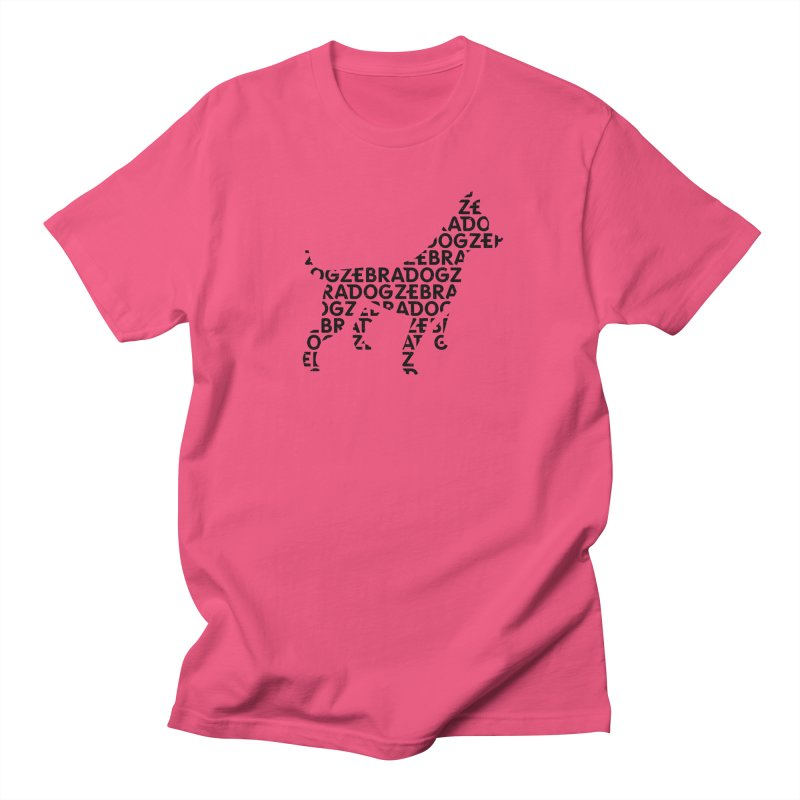 Alphabet Zoup Women's Regular Unisex T-Shirt by Zebradog Apparel & Accessories