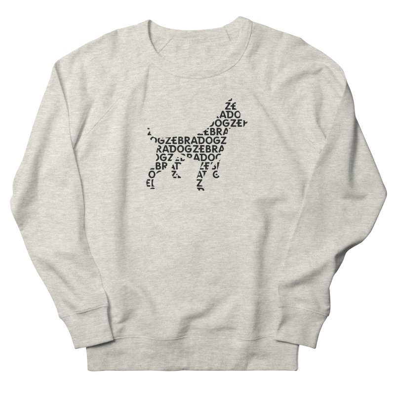 Alphabet Zoup Men's Sweatshirt by Zebradog Apparel & Accessories