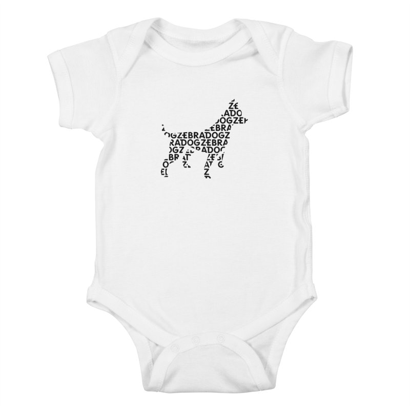 Alphabet Zoup Kids Baby Bodysuit by Zebradog Apparel & Accessories