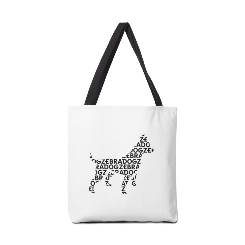 Alphabet Zoup Accessories Tote Bag Bag by Zebradog Apparel & Accessories