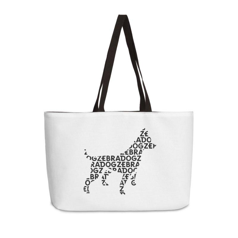 Alphabet Zoup Accessories Weekender Bag Bag by Zebradog Apparel & Accessories
