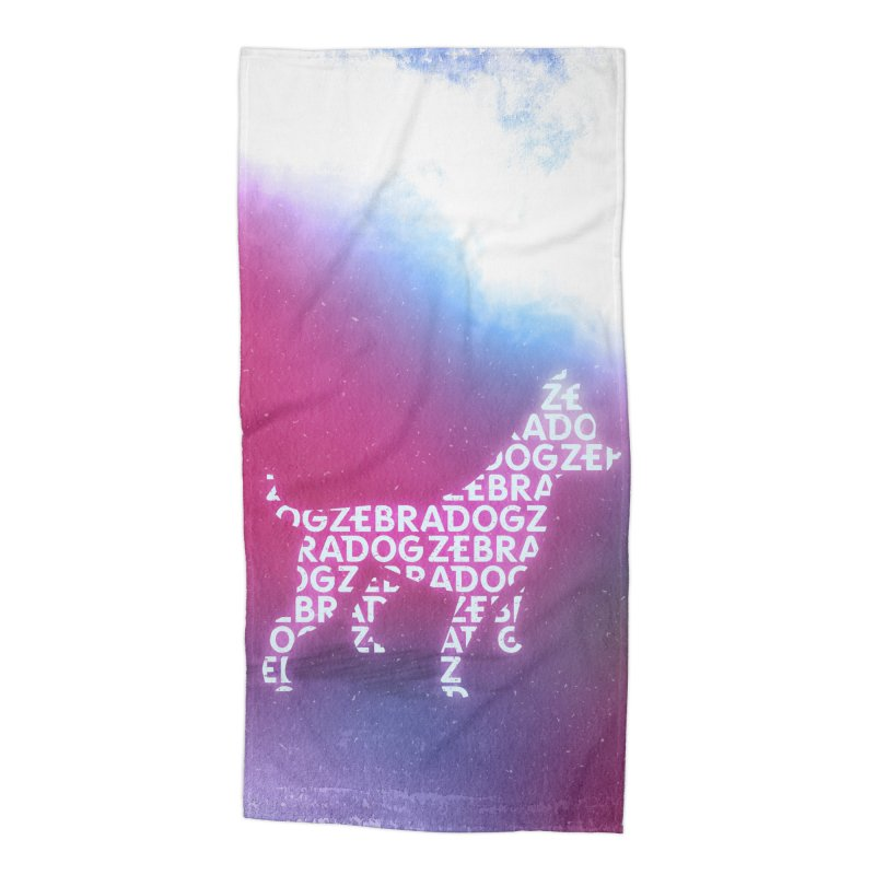 ZDream Accessories Beach Towel by Zebradog Apparel & Accessories