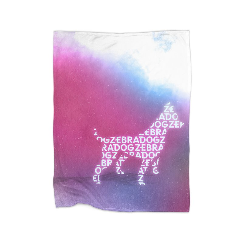 ZDream Home Fleece Blanket Blanket by Zebradog Apparel & Accessories