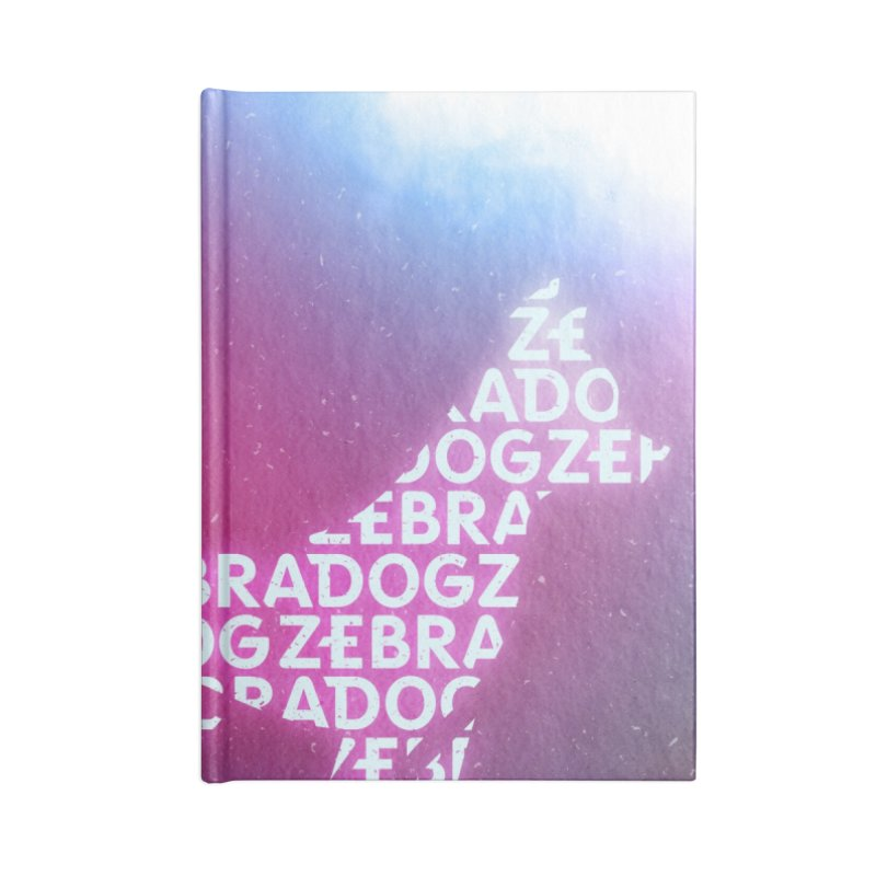 ZDream Accessories Lined Journal Notebook by Zebradog Apparel & Accessories