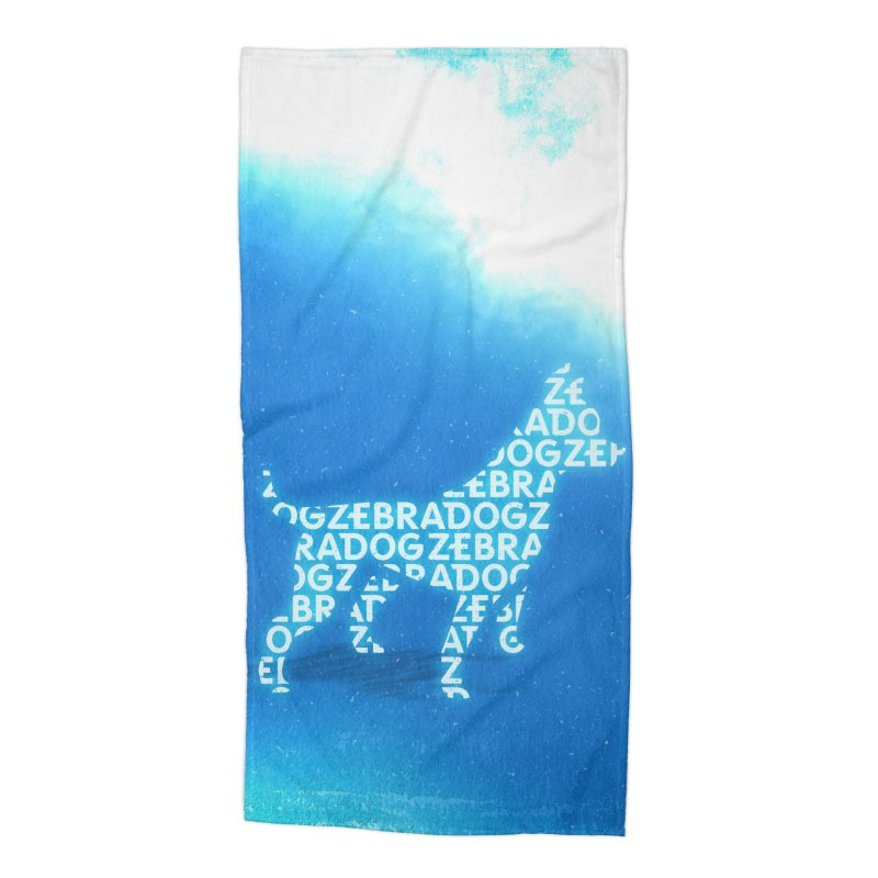 Blu ZDream Accessories Beach Towel by Zebradog Apparel & Accessories