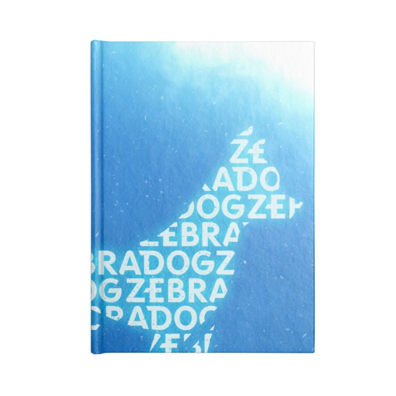 Blu ZDream Accessories Notebook by Zebradog Apparel & Accessories