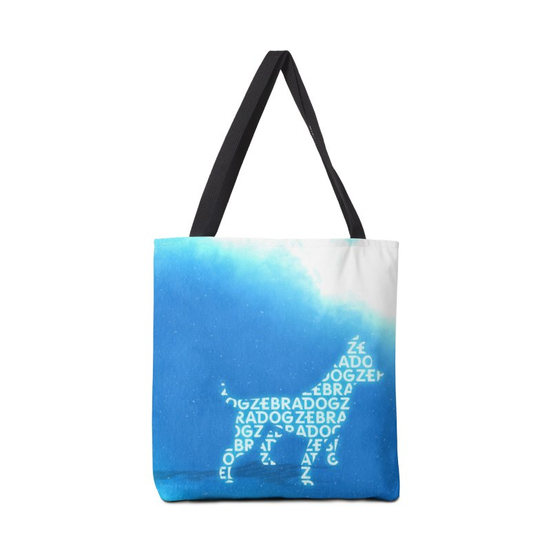 Blu ZDream Accessories Tote Bag Bag by Zebradog Apparel & Accessories