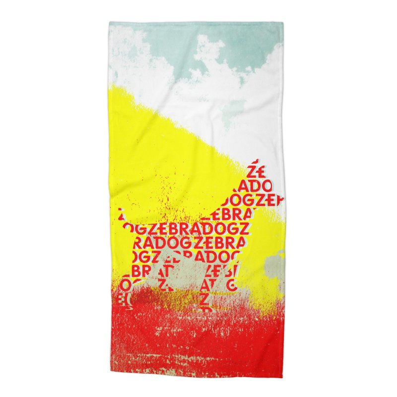 ZDreamScape Accessories Beach Towel by Zebradog Apparel & Accessories