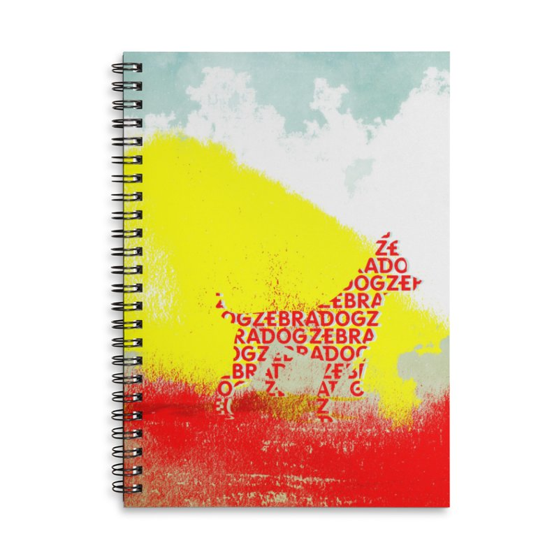 ZDreamScape Accessories Lined Spiral Notebook by Zebradog Apparel & Accessories