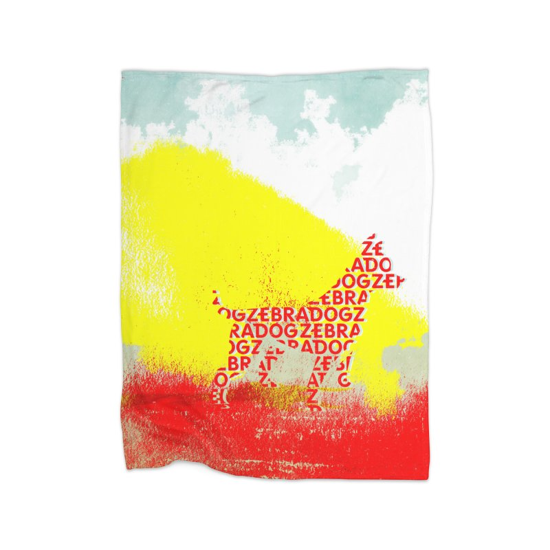 ZDreamScape Home Fleece Blanket Blanket by Zebradog Apparel & Accessories