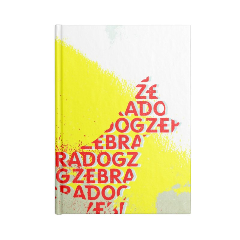 ZDreamScape Accessories Notebook by Zebradog Apparel & Accessories