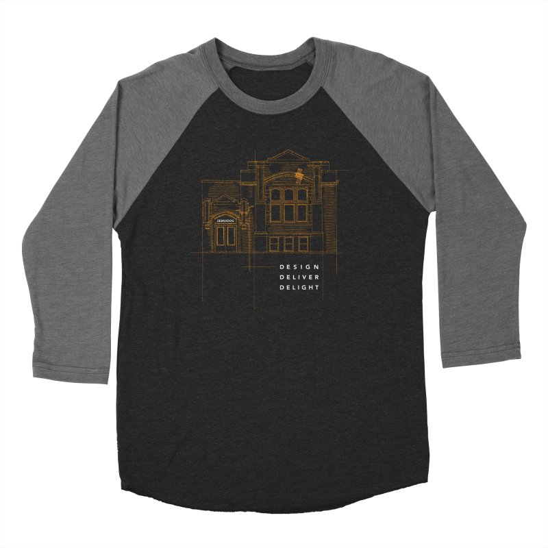 6th Ward Library Women's Longsleeve T-Shirt by Zebradog Apparel & Accessories