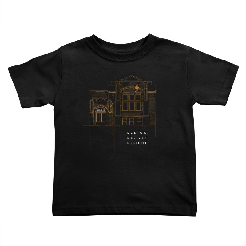 6th Ward Library Kids Toddler T-Shirt by Zebradog Apparel & Accessories