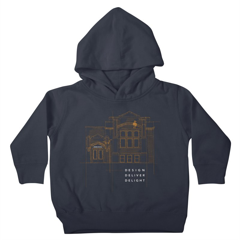 6th Ward Library Kids Toddler Pullover Hoody by Zebradog Apparel & Accessories
