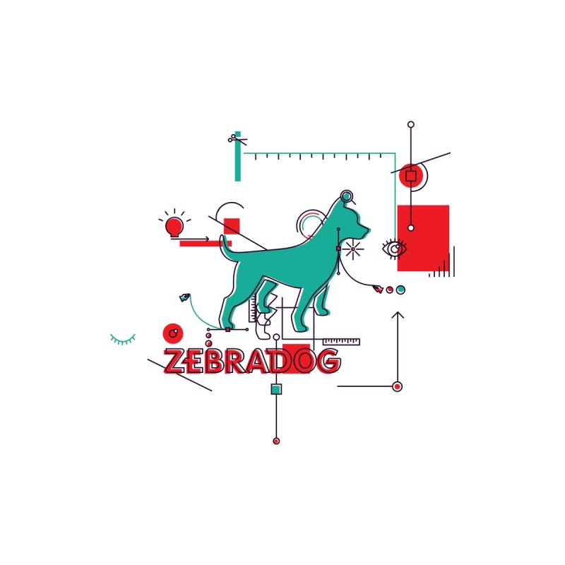 Process Accessories Bag by Zebradog Apparel & Accessories